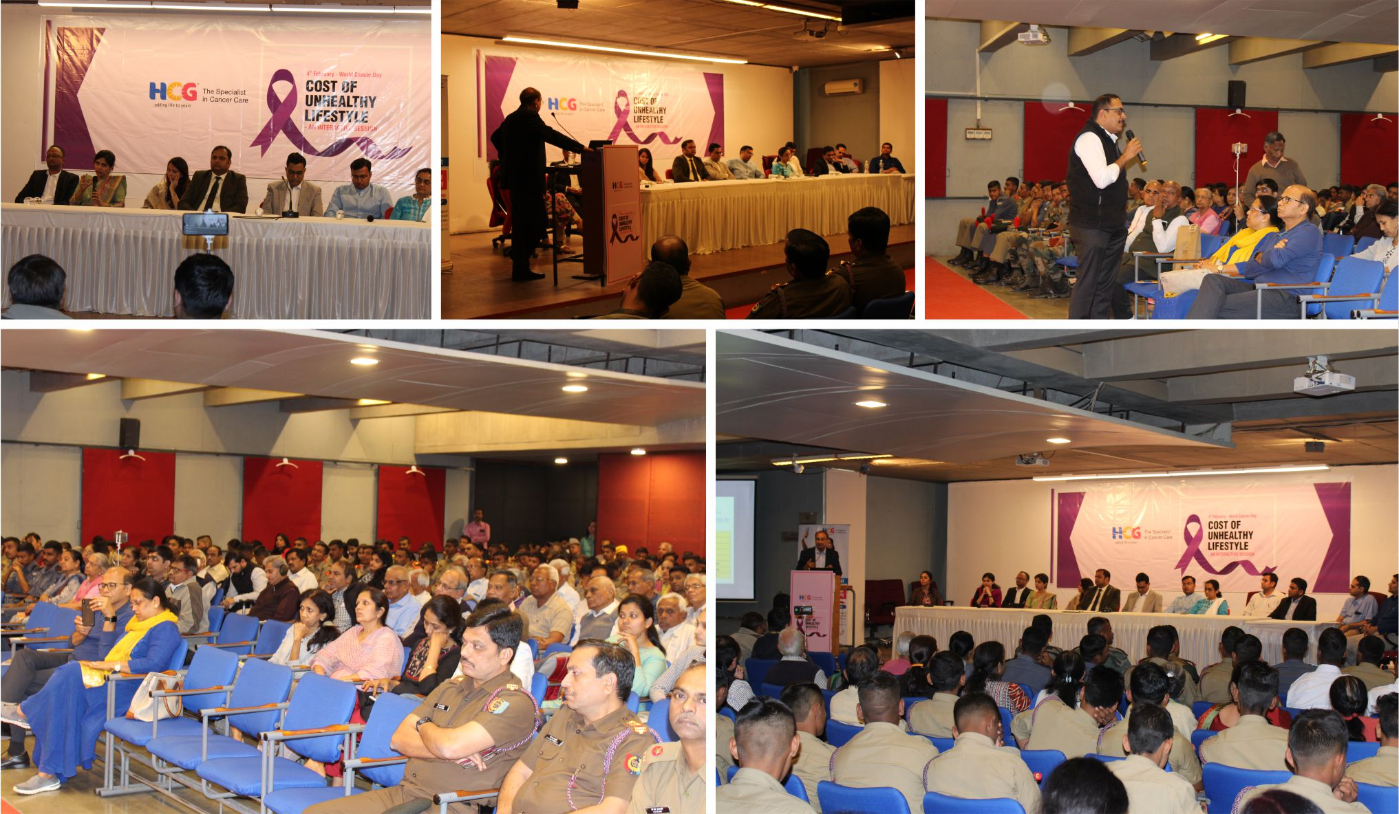 HCG Cancer Center organized a interactive session on World Cancer Day 2020