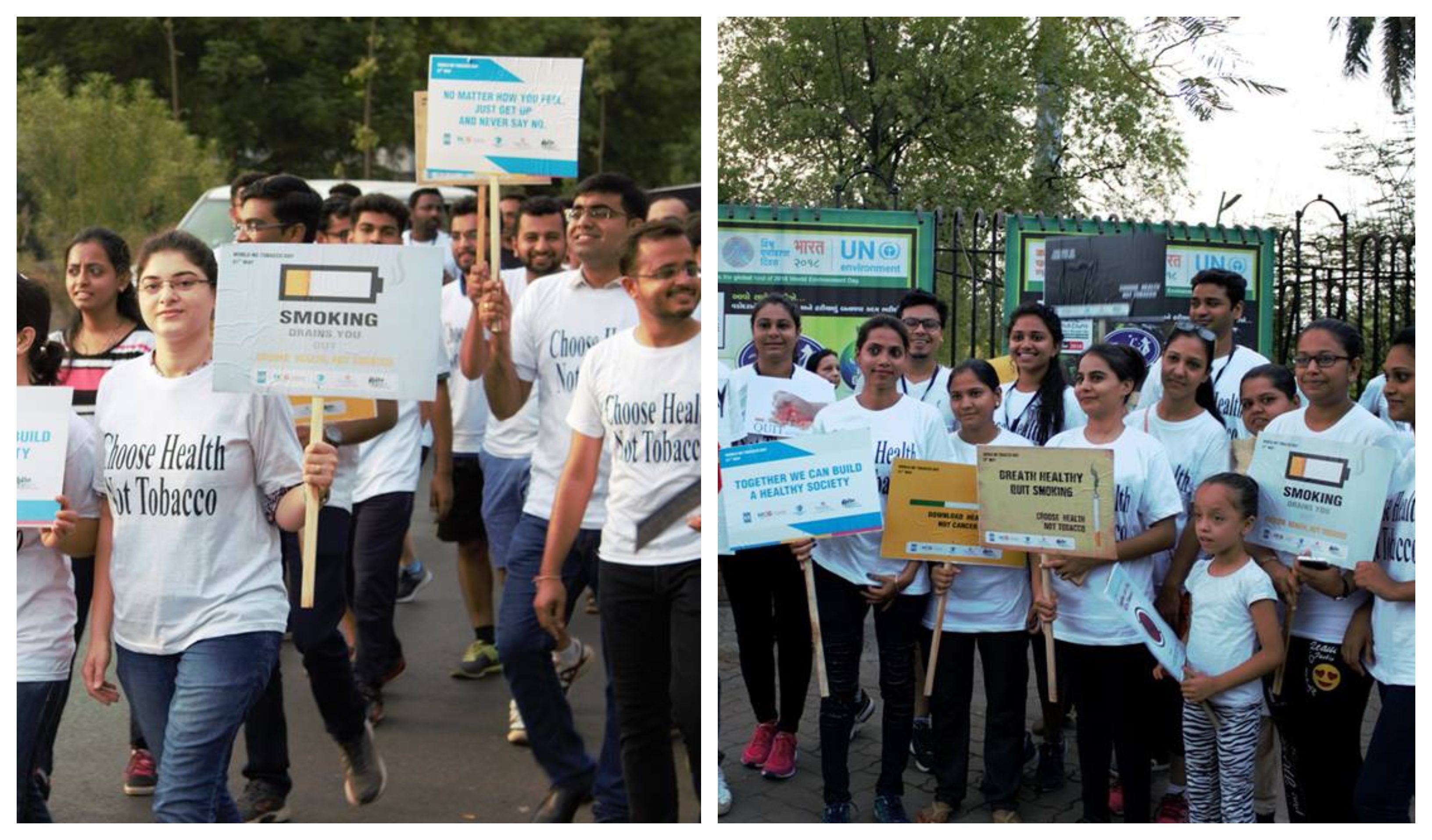 Walkathon on World No Tobacco Day
